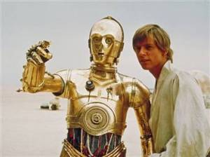 C-3PO and Luke Skywalker... more than a Sci-Fi movie?