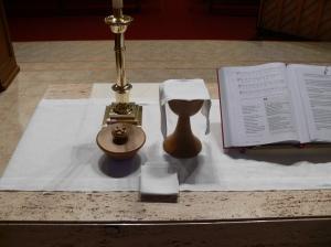 Altar at St. John