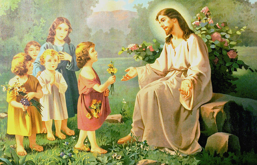 jesus-and-the-little-children-unknown